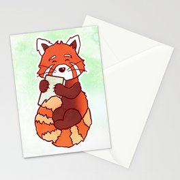 RED PANDA READS Stationery Cards