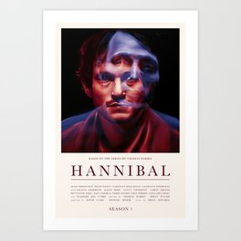 Hannibal - Season 1 Art Print