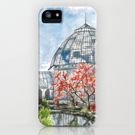 Detroit Belle Isle Conservatory iPhone Case