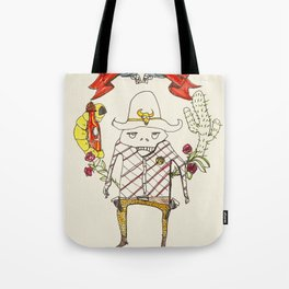 A New Sheriff's In Town Tote Bag