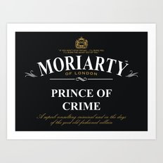 Prince of Crime Art Print