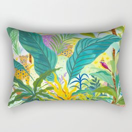 Paradise Jungle Rectangular Pillow
