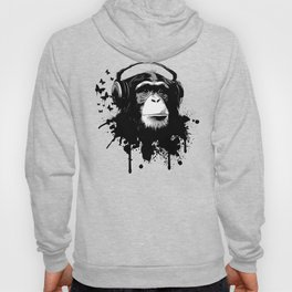 Monkey Business - Black Hoody