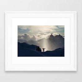 Alpine Praise #1 Framed Art Print