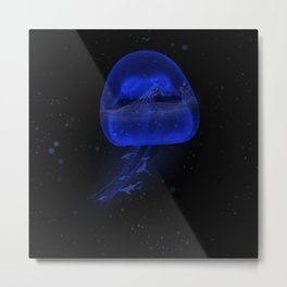 Water Jelly Metal Print