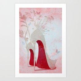 Loulou Art Print