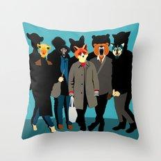The gang Throw Pillow