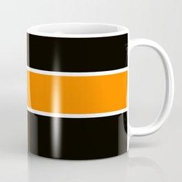 Team Color 6....Orange,black Coffee Mug