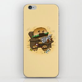 The Dad Burger iPhone Skin