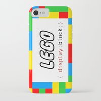 pun iPhone & iPod Cases featuring CSS Pun - Lego by iwantdesigns