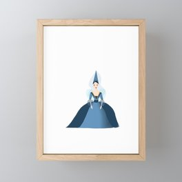 Merryweather, the Blue Fairy Framed Mini Art Print