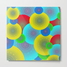 Inner Child Abstract Metal Print