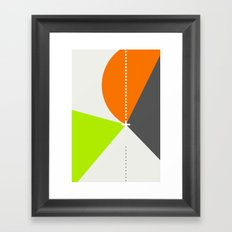 Spot Slice 02 Framed Art Print