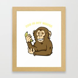 Zoo, Animal, Pet Framed Art Print