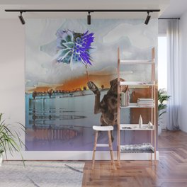 Dog Vision. Wall Mural