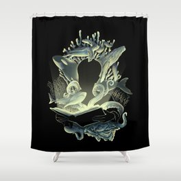 Underwater Stories Shower Curtain