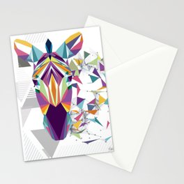 Geometric Horse Stationery Cards