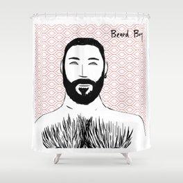 Beard Boy: Emilio Shower Curtain