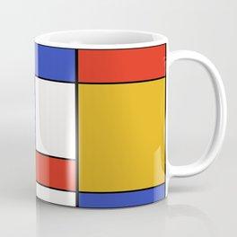 Mondrian #8 Coffee Mug