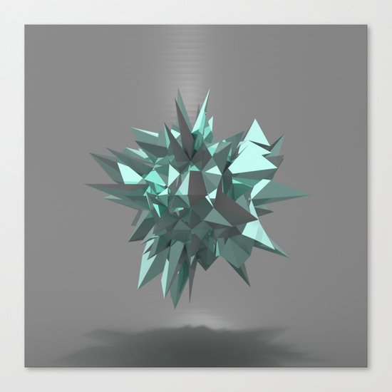 Sphere of shards I Canvas Print