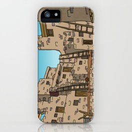 Hopi Village iPhone Case