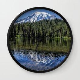 Ripples and Reflection, Mt Rainier Wall Clock