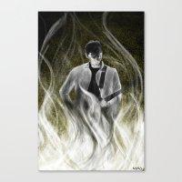 alex turner Canvas Prints featuring ALEX TURNER by Kana
