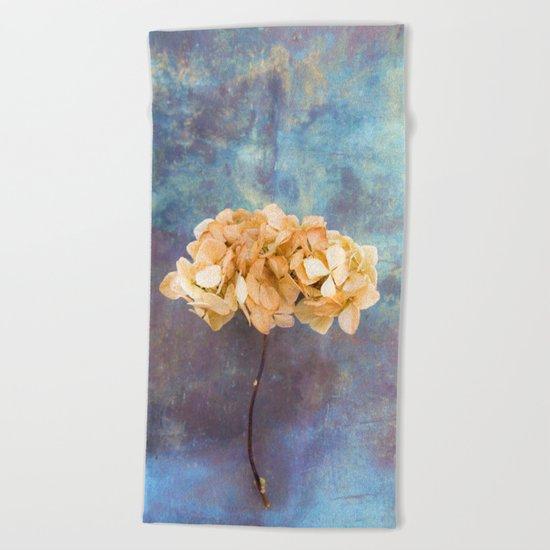 Dried Hydrangea I Beach Towel