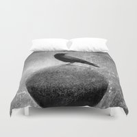 globe Duvet Covers featuring Magic Globe by The Strange Days Of Gothicrow