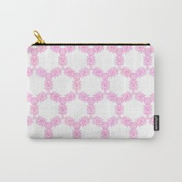 Art Nouveau Thistle in Rose Carry-All Pouch