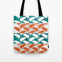 Foxhatched Tote Bag