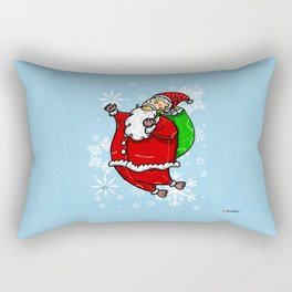 Santa Claus Sbirù Rectangular Pillow
