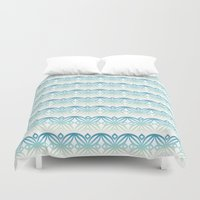wind Duvet Covers featuring Wind by Caitlin Ramsay
