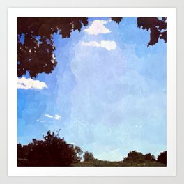Summer Afternoon Art Print