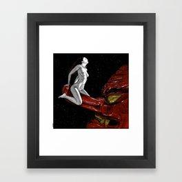 asc 678 - L'amant cosmique (The heavenly dog) Framed Art Print