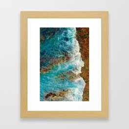 Rocky Beach No1 Framed Art Print