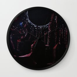 The Fall into Night. Wall Clock