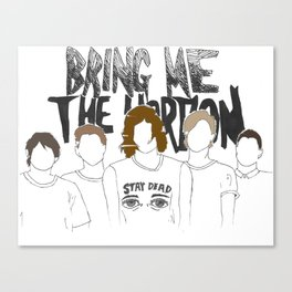 BringMe The Horizon Canvas Print