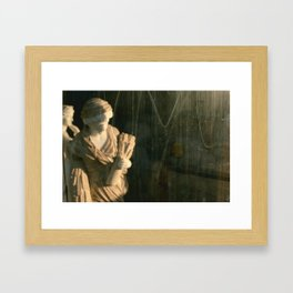 Spaces Between Framed Art Print