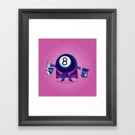 The Magic Eight Ball Framed Art Print