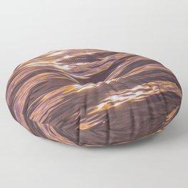 abstract water gradient 0881 Floor Pillow