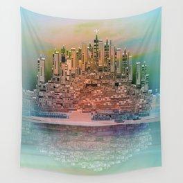 Memory Island Wall Tapestry