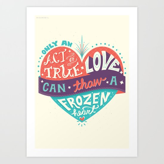 Act of True Love Art Print