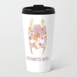 Introverts unite. Travel Mug