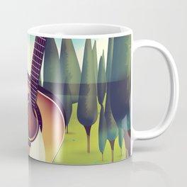 Take it Easy guitar poster. Coffee Mug