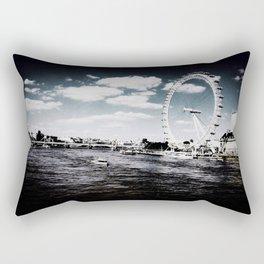London is Calling Rectangular Pillow