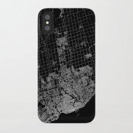 toronto map iPhone Case