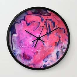 Paths of Circumstance Wall Clock