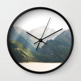 The Montana Collection - Lake Como Wall Clock