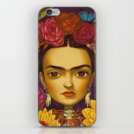 Frida Flowers iPhone Skin